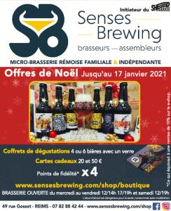 Biere de noel - senses brewing